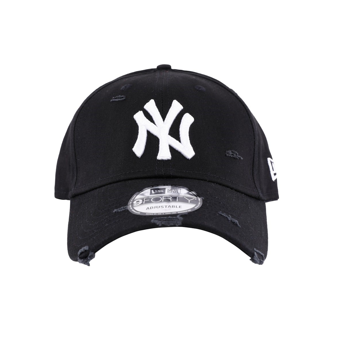 New Era Şapka - Distressed Seasonal 940 New York Yankees Black 3ed672a693