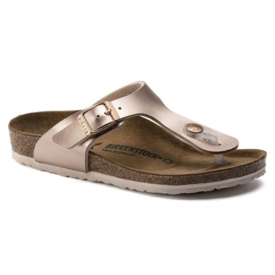 Birkenstock Gizeh Çocuk Terlik - Electric Metallic Copper