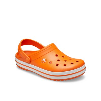 Crocs Crocband Bayan Terlik - Orange/White