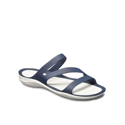 Crocs Swiftwater Sandal W Bayan Terlik - Navy/White