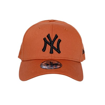 New Era Şapka 39THIRTY MLB Essential New York Yankees Rust/Black