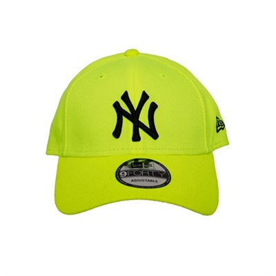 New Era Şapka - 9FORTY Neon Basic New York Yankees Neon Yellow