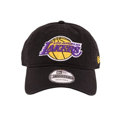New Era Şapka - 9TWENTY Los Angeles Lakers Black/Otc