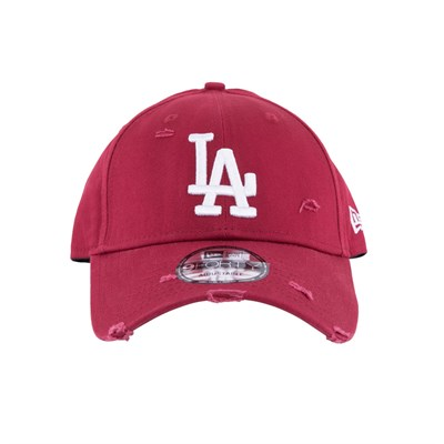 New Era Şapka - Distressed Seasonal 9FORTY Los Angeles Dodgers Cardinal