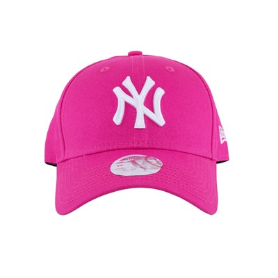 New Era Şapka - Fashion Essential 9FORTY New York Yankees Pink/Optic White