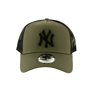 New Era Şapka - League Essential Trucker New York Yankees New Olive/Black