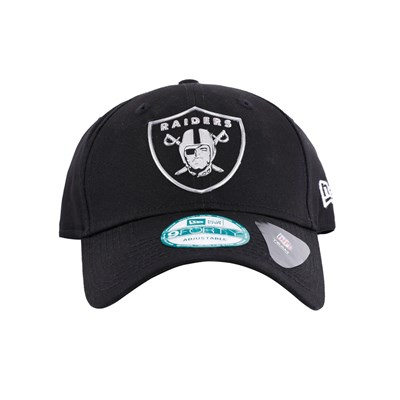 New Era Şapka - Liquid Metal 9FORTY Oakland Raiders Black
