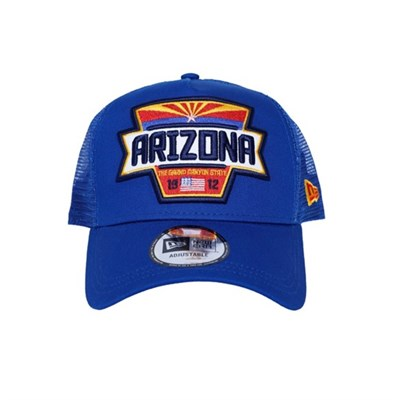 New Era Şapka - USA Arizona Patch Blue A Frame Trucker