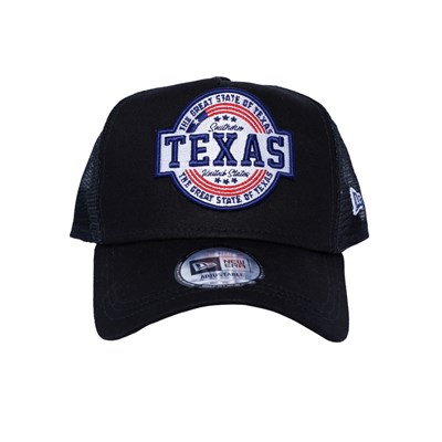 New Era Şapka - USA Texas Patch Black A Frame Trucker